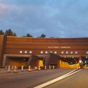 Planung provisorische Verkehrsführungen/ Vollsperrung A7 Abschnitt Elbtunnel zwischen AS HH-Heimfeld bis AS HH-Volkspark in Hamburg